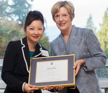 President's Awards for Staff Recipient Profile: Linda Ong, Global Citizenship 2015