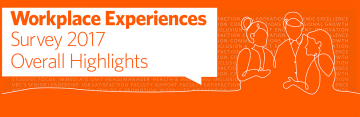 Workplace Experiences Survey 2017: Results
